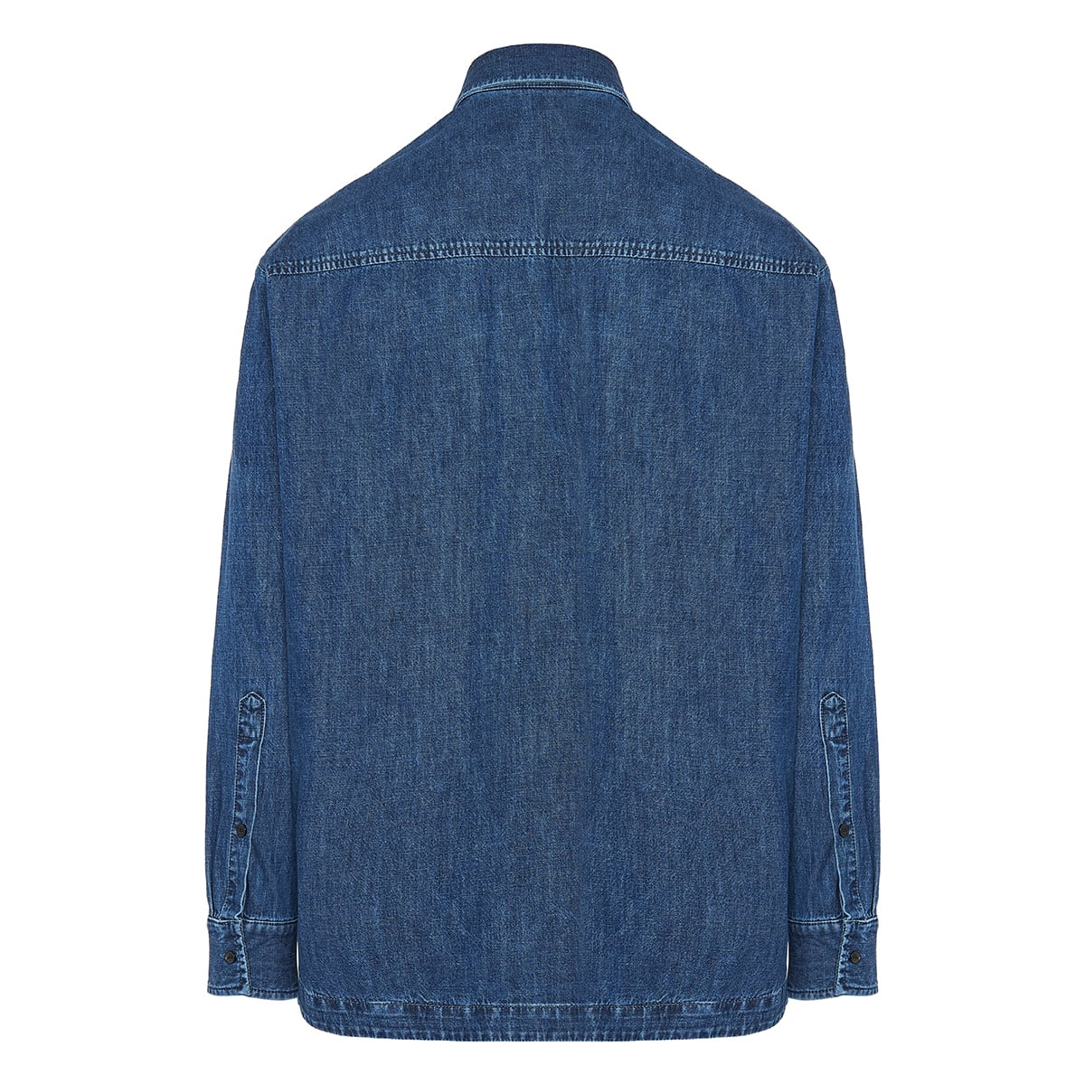 Denim kaftan shirt