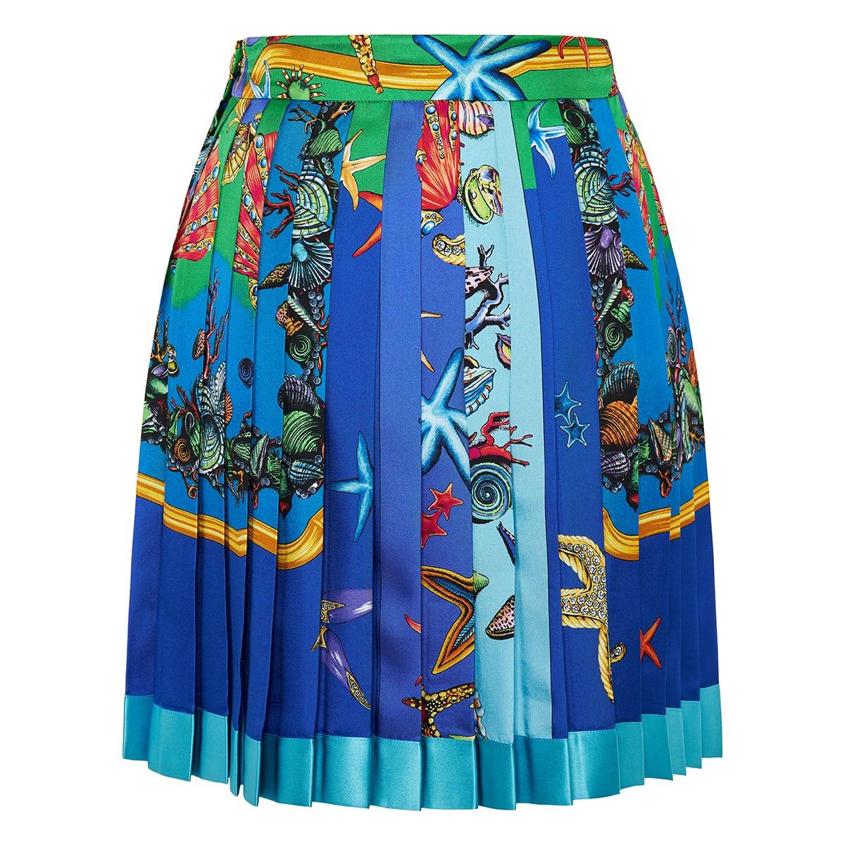 Trésor de la Mer pleated mini skirt