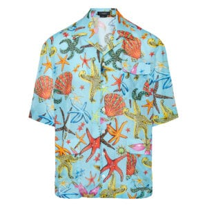 Trésor de la Mer printed cotton shirt
