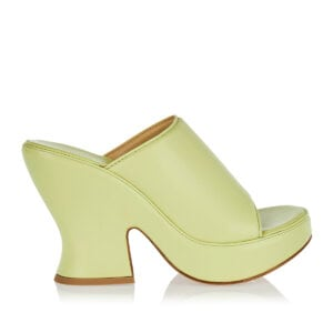 Wedge Sandal leather mules