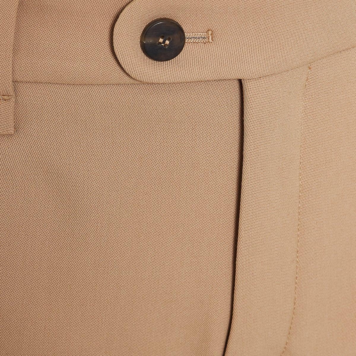 Wool mini shorts