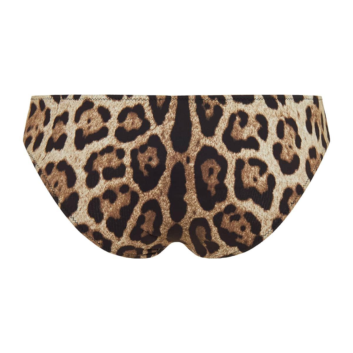 Leopard bikini bottoms