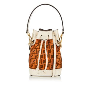 Mon Tresor FF mini bucket bag
