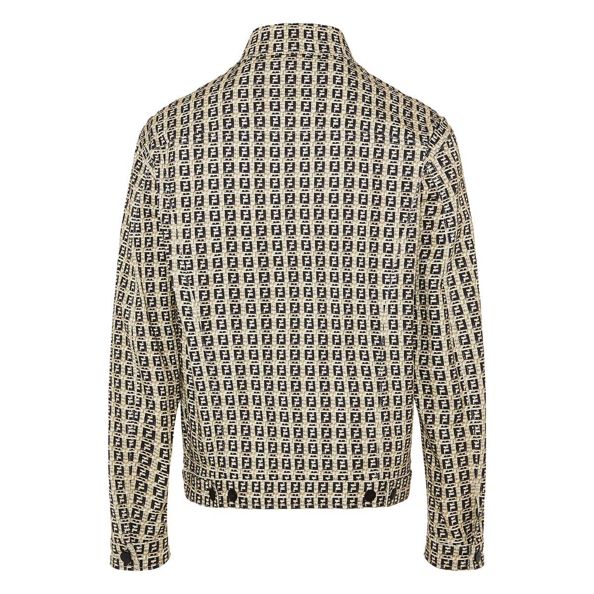 FF oversized printed cotton jacket