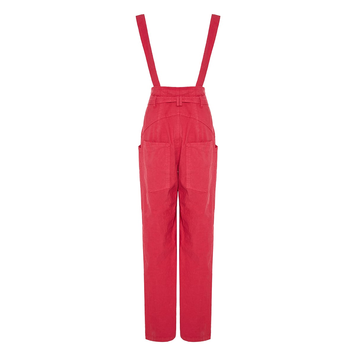 Fineba wide-leg overalls