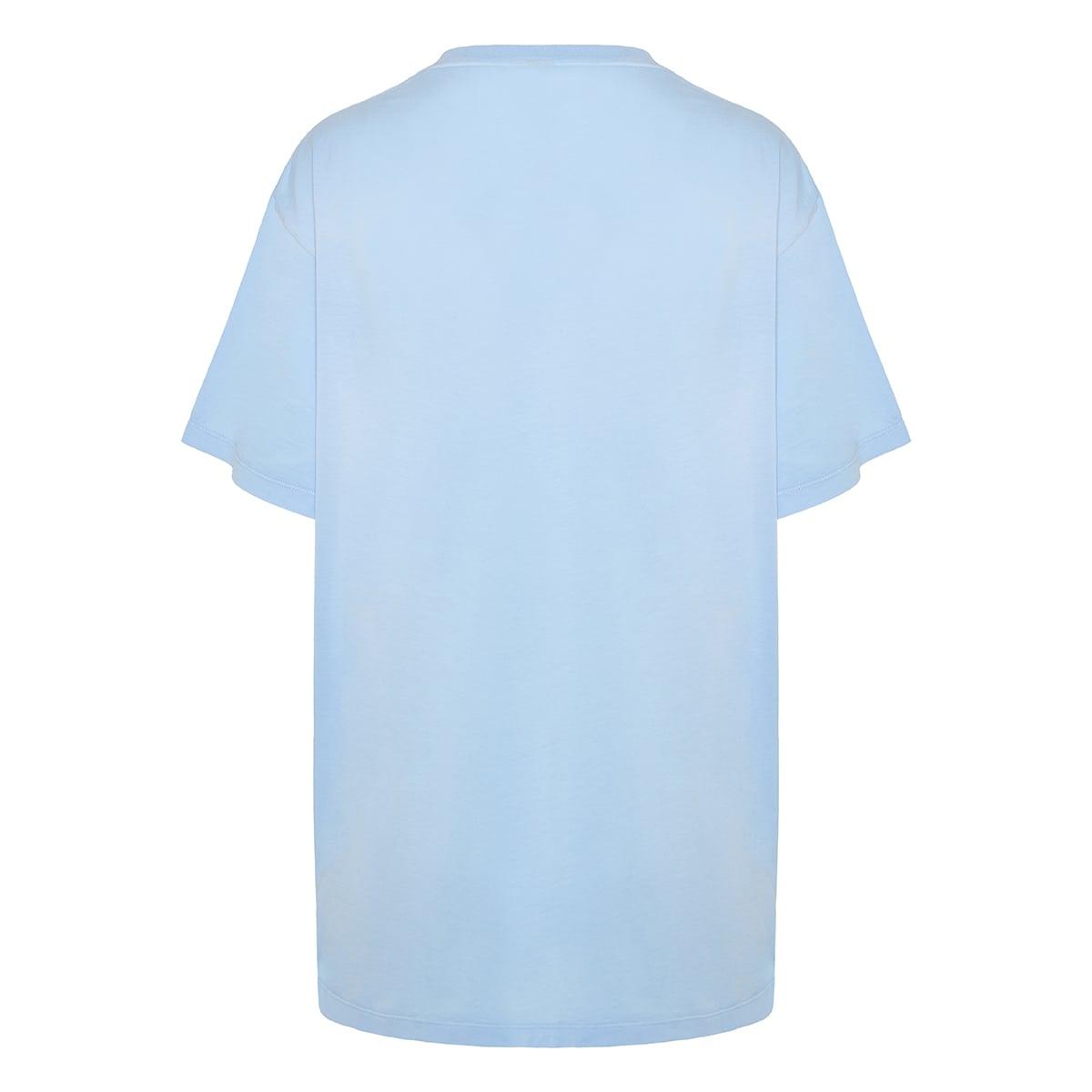 Tie-dye logo cotton t-shirt
