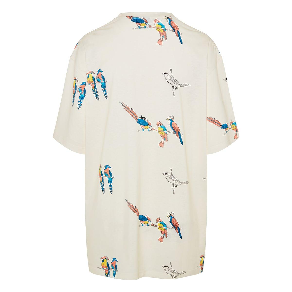 Parrot oversized logo t-shirt