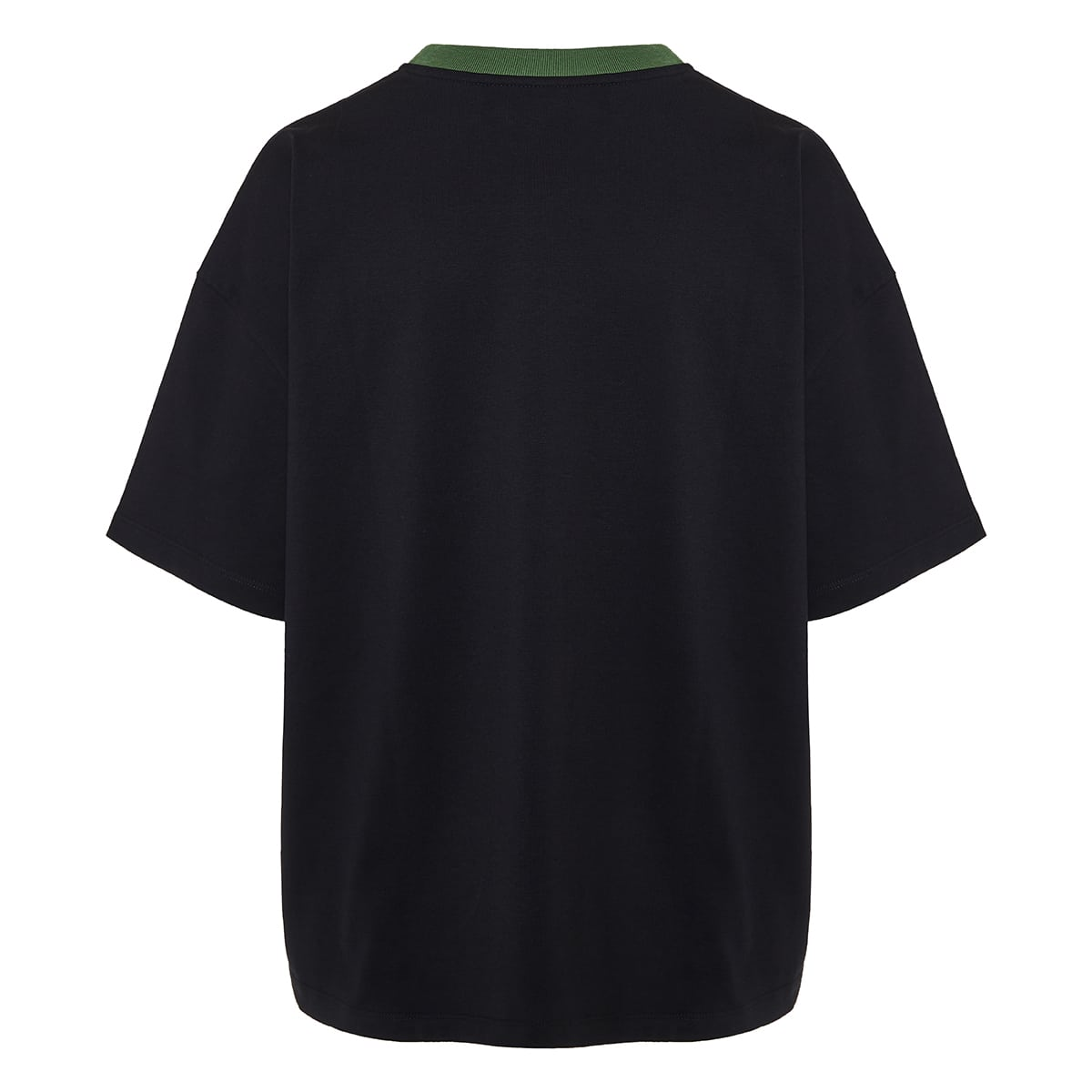 Oversized logo cotton t-shirt