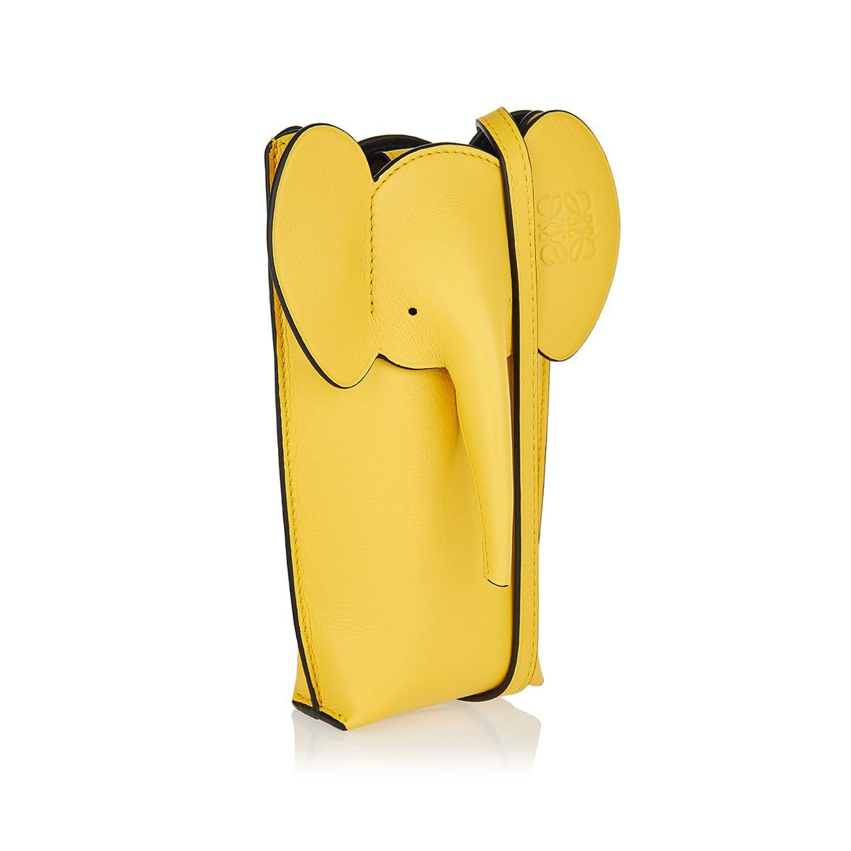 Elephant Pocket leather pouch