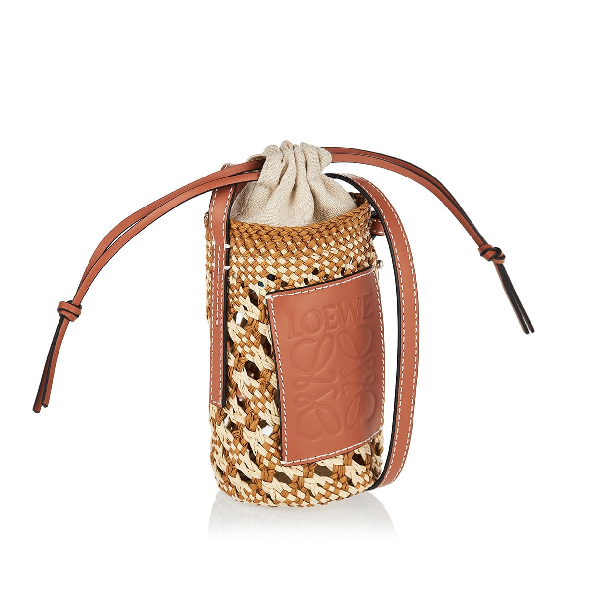 Cylinder Pocket woven pouch