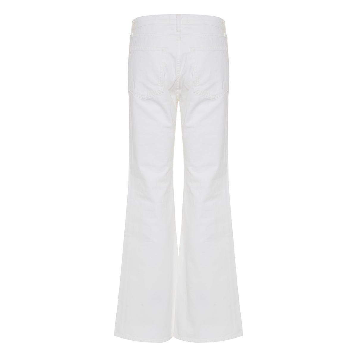 Celia flared denim trousers