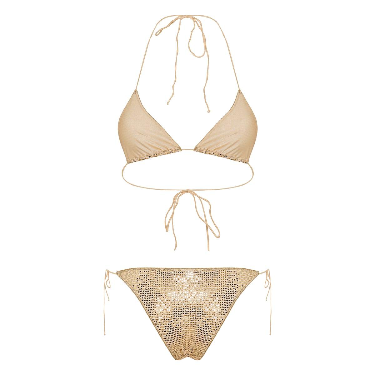 Disco Microkini sequin bikini