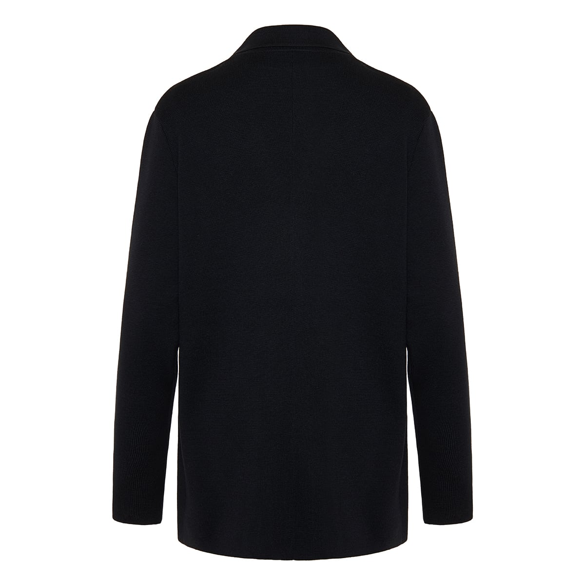 Chopok double-breasted knitted blazer