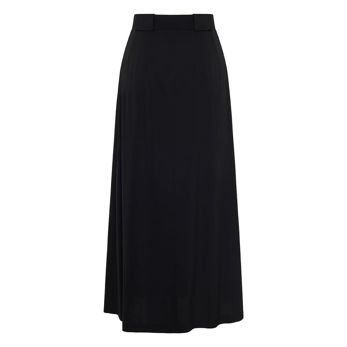 Jaako pleated midi skirt