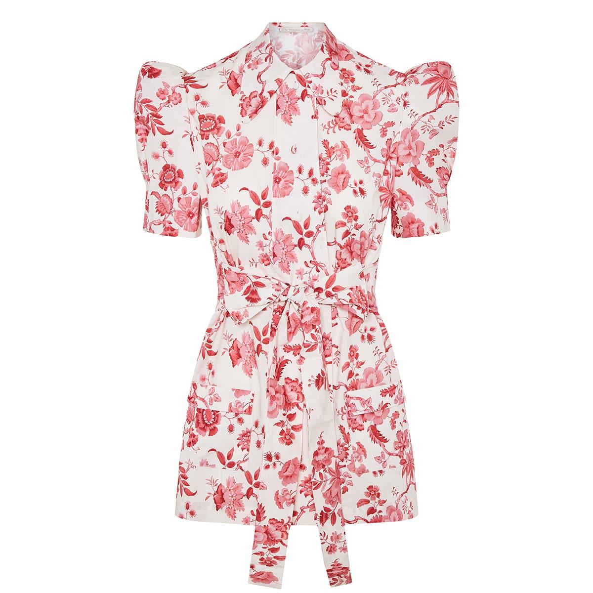 The Persuasion floral cotton blouse