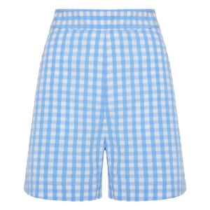 Robin gingham cotton shorts