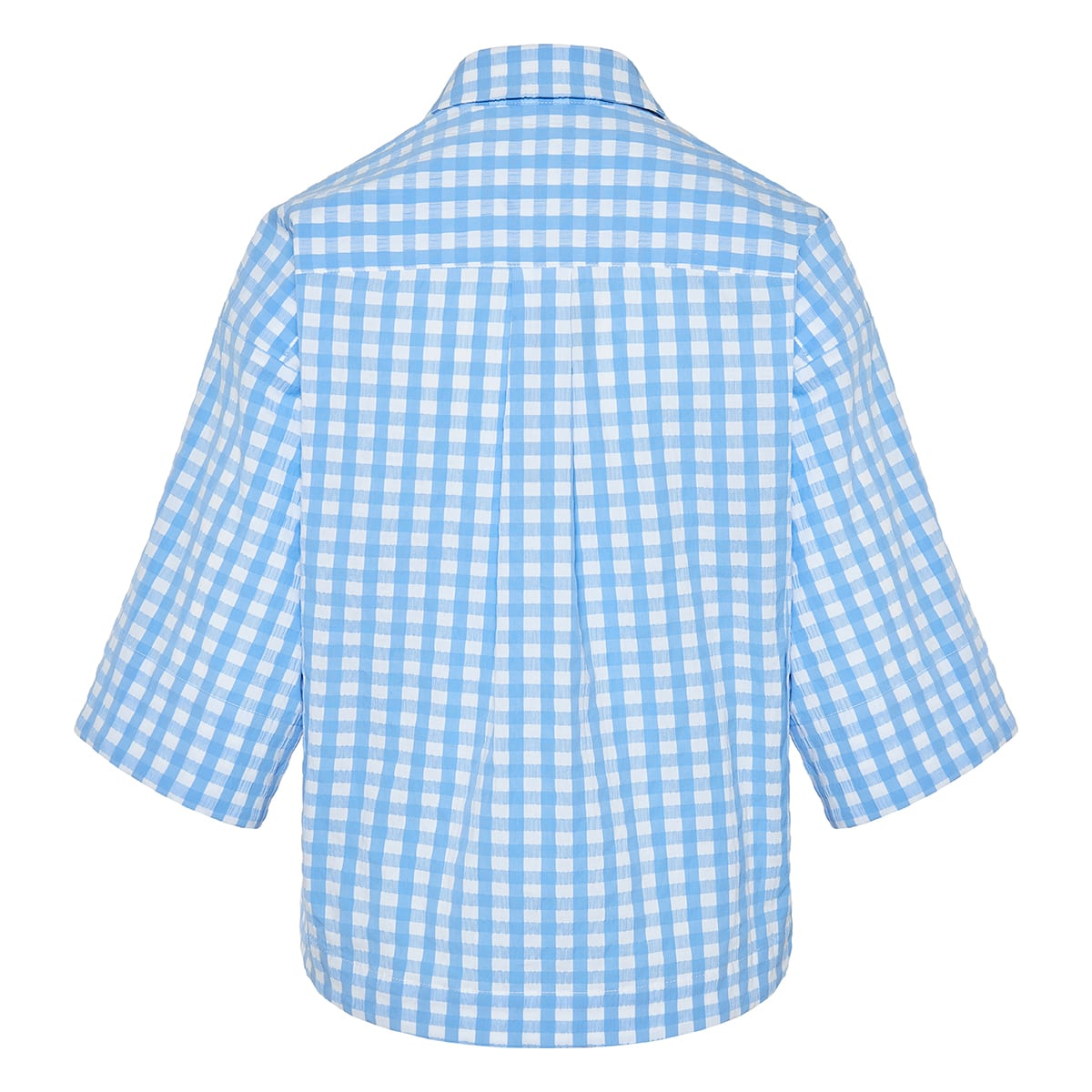 Nico gingham cotton shirt