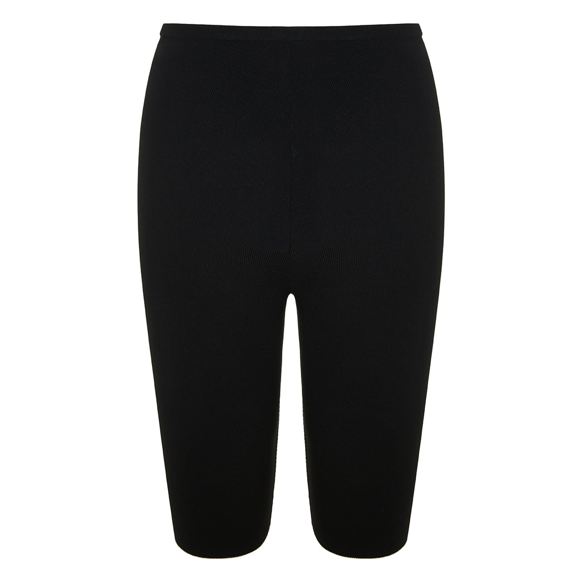 Logo ribbed-knit cycling shorts