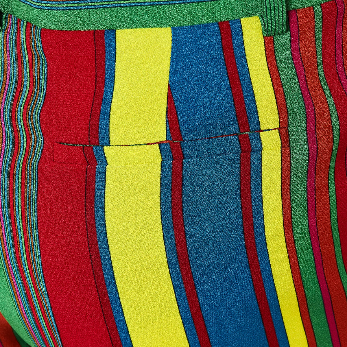 GV striped mini shorts