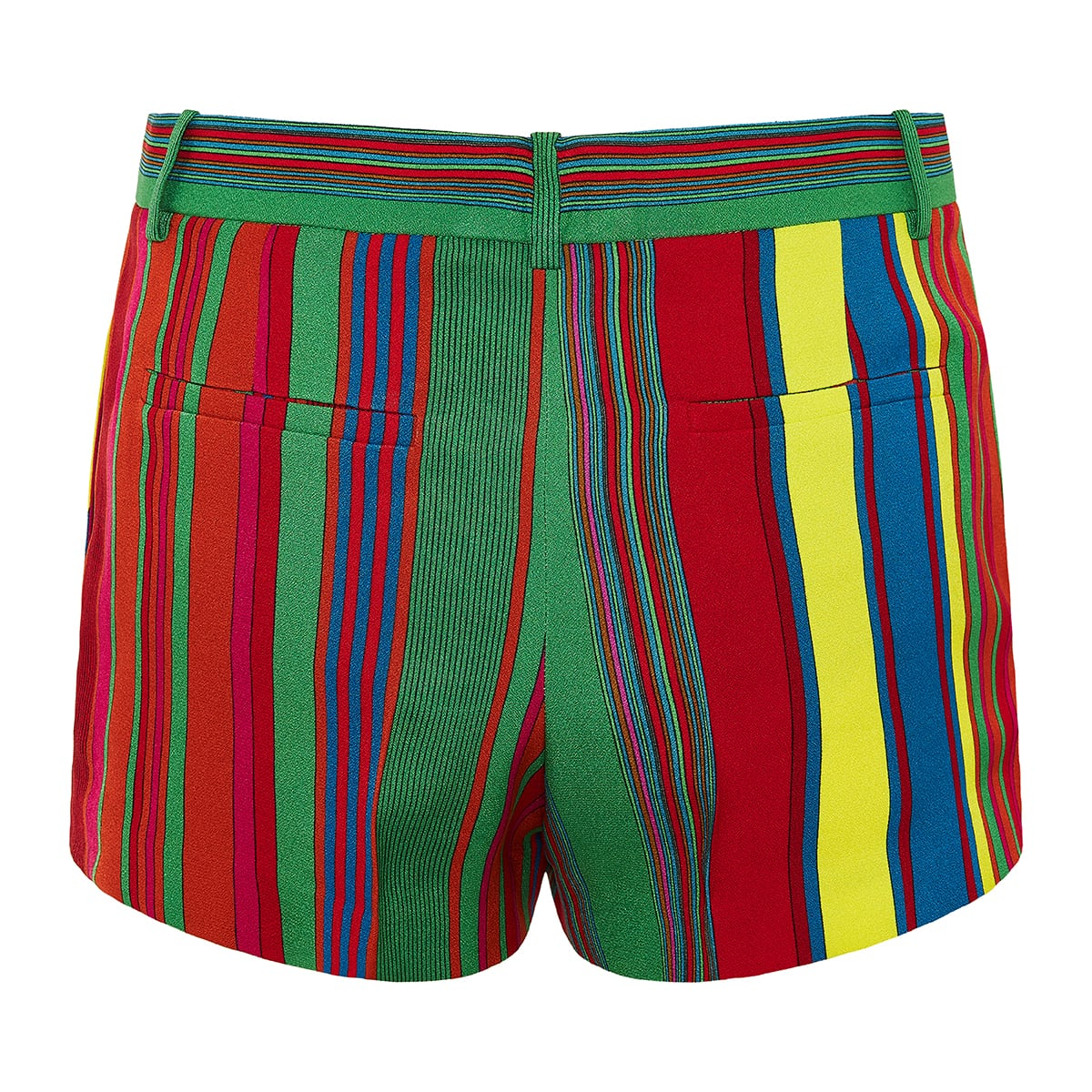 GV striped mini shorts