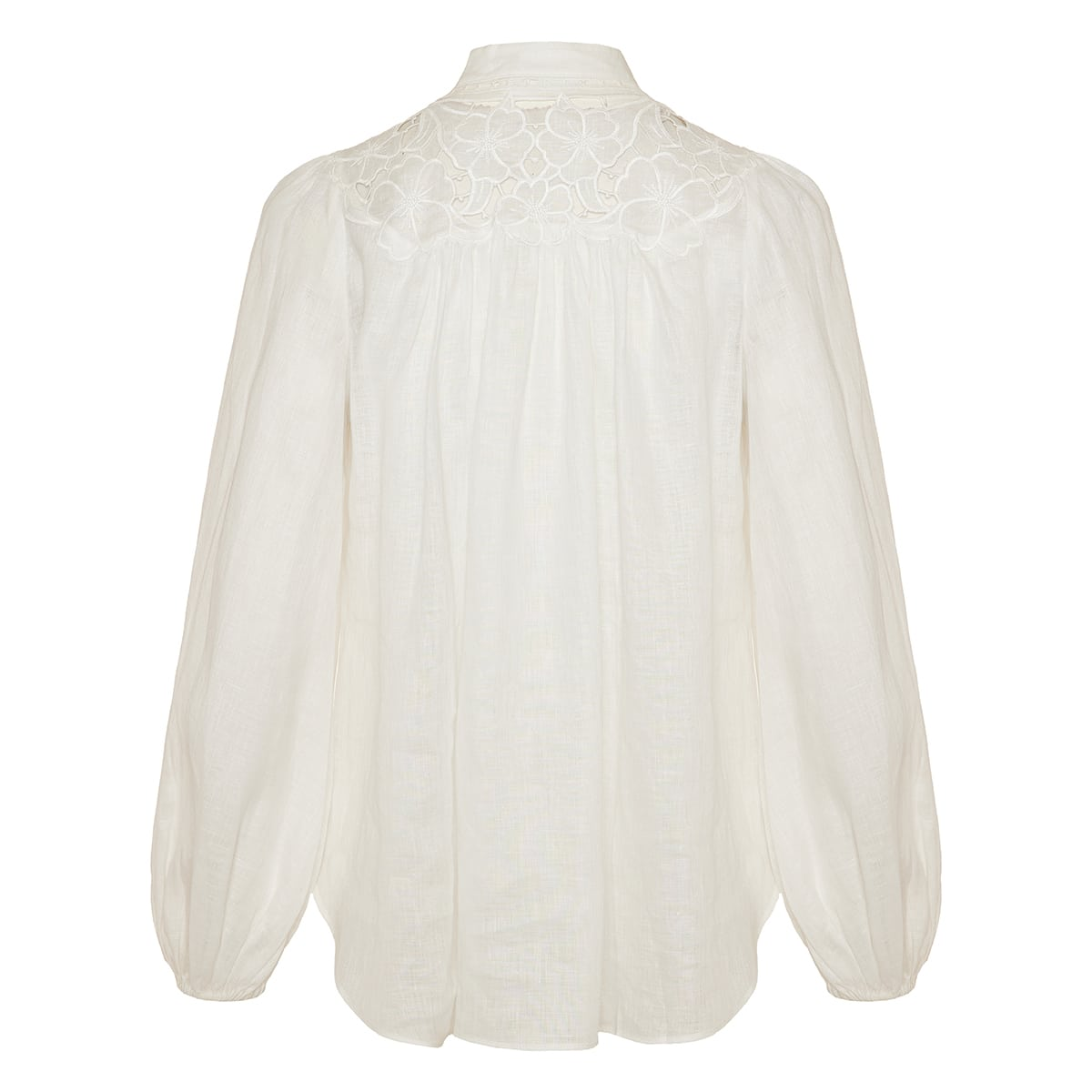 Cassia embroidered linen shirt