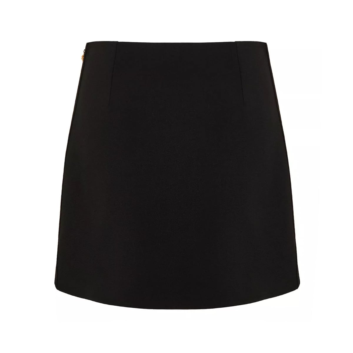 Crepe mini skirt