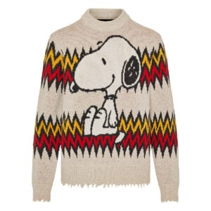 Snoopy Plays Harmonica sweater