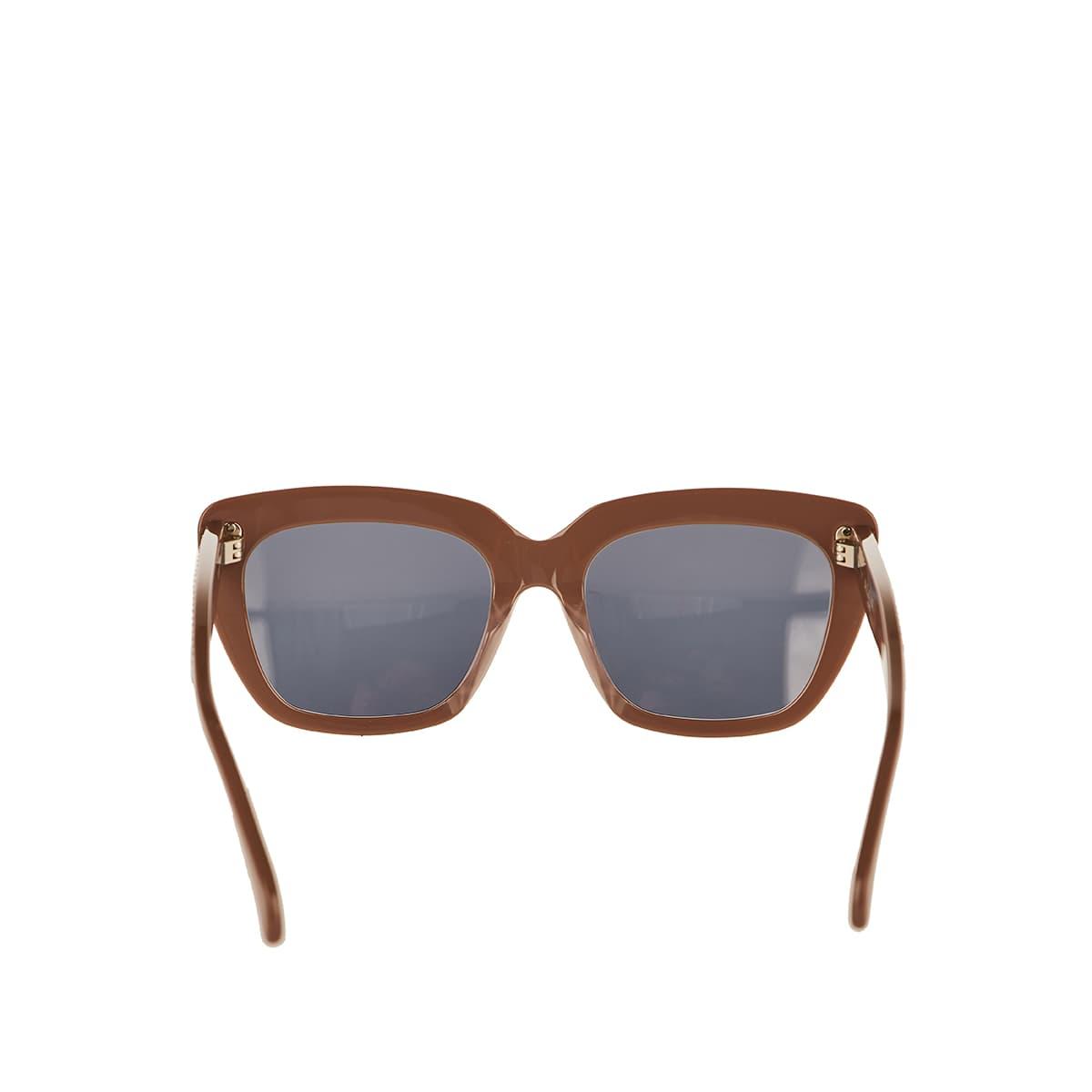 Studded square sunglasses