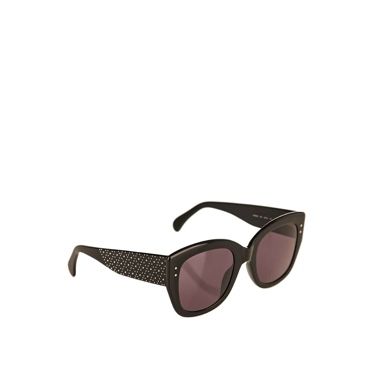 Oversized studded sunglasses
