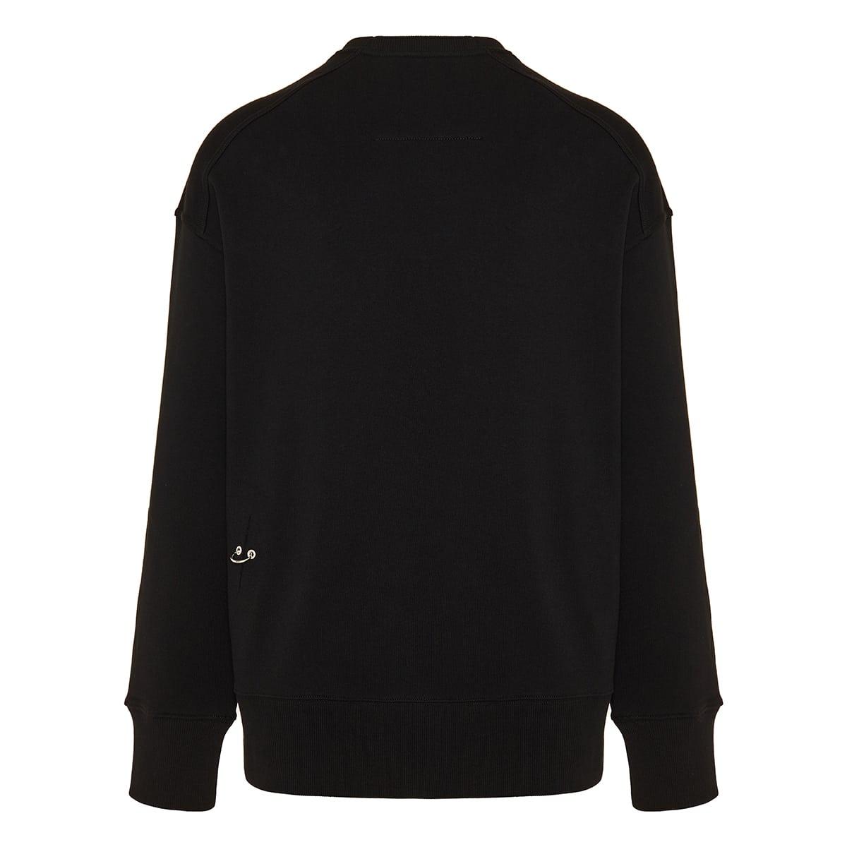 Embellished logo cotton sweatshirt