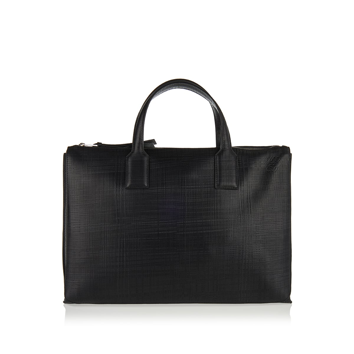 Goya leather briefcase