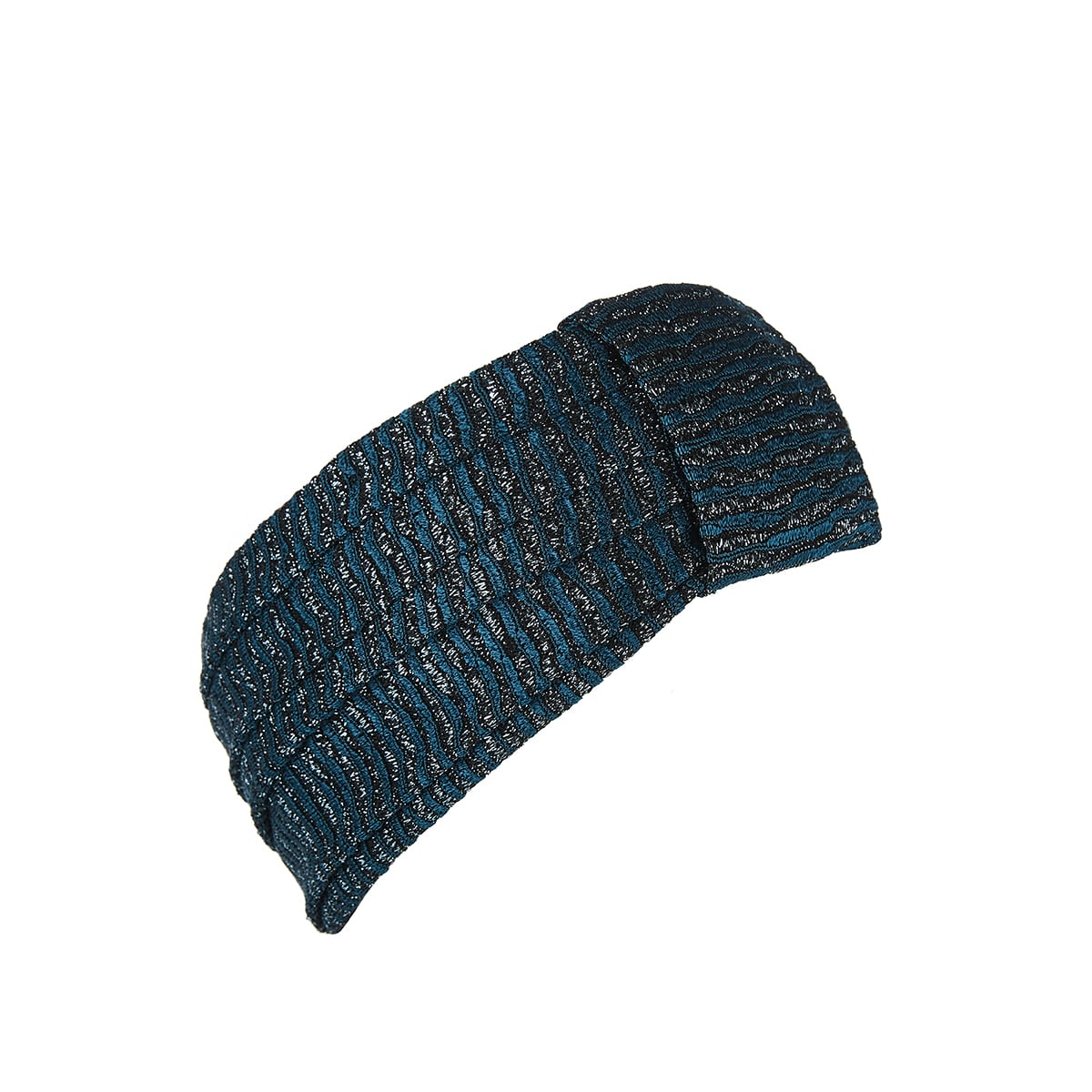 Lurex knitted headband
