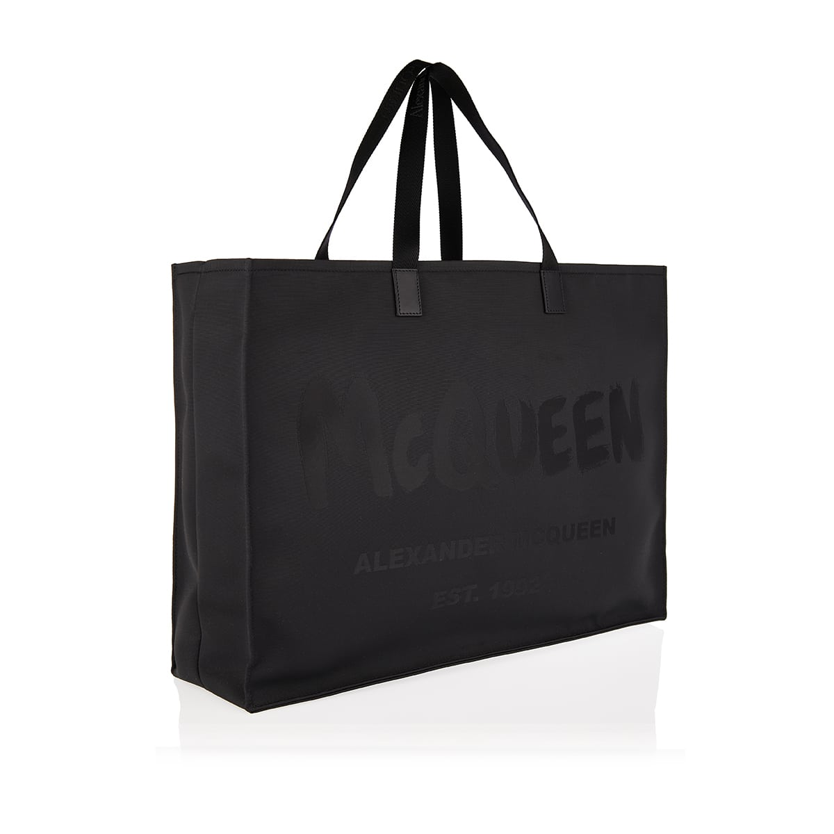 East West large logo tote