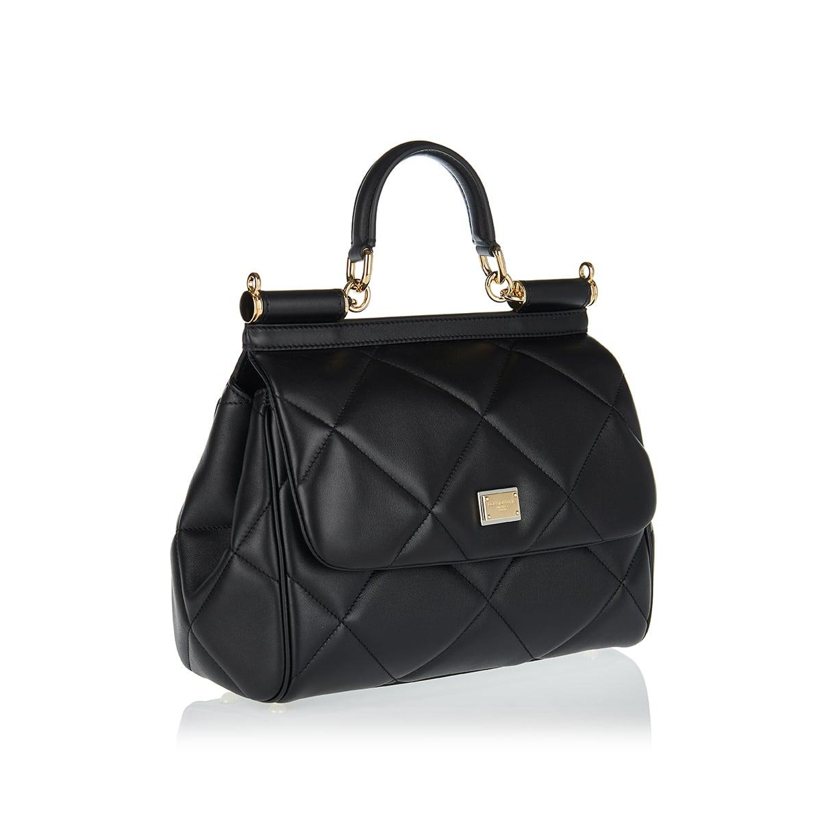 Sicily medium quilted leather bag