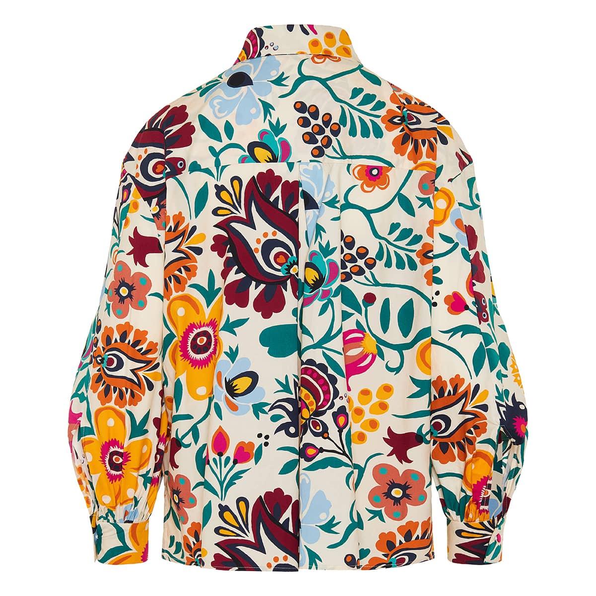 Poet floral poplin shirt