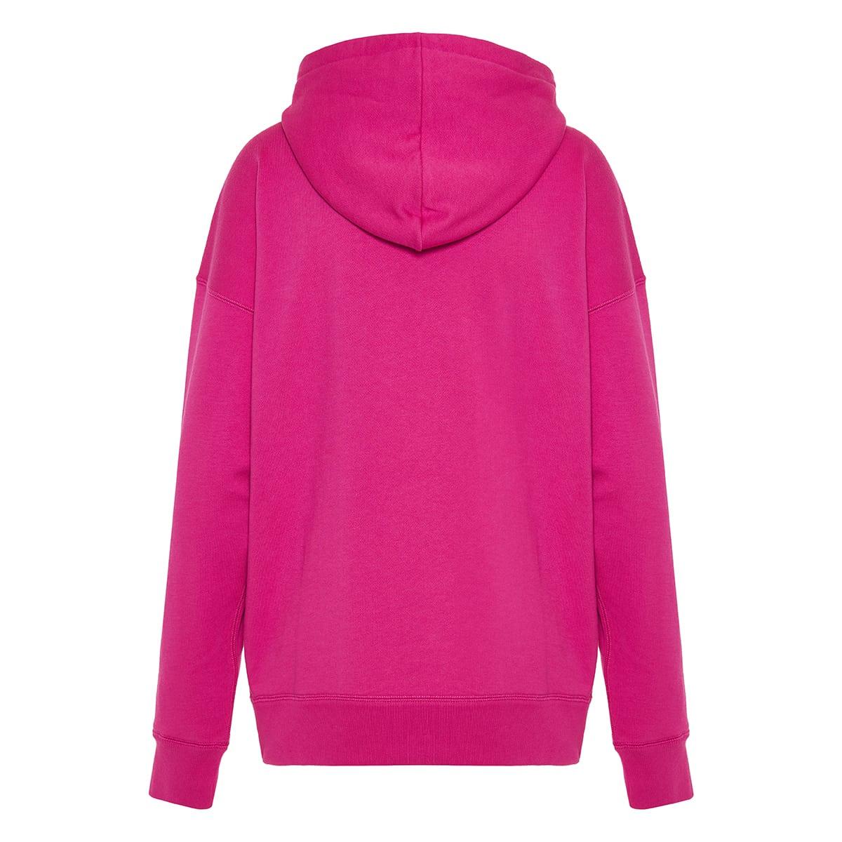 Mansel logo cotton hoodie