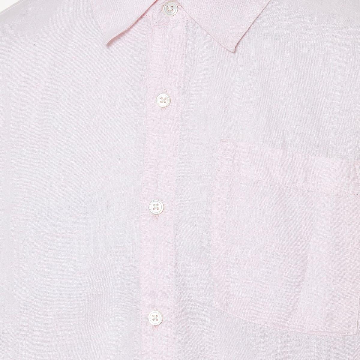 Tie-dye linen shirt