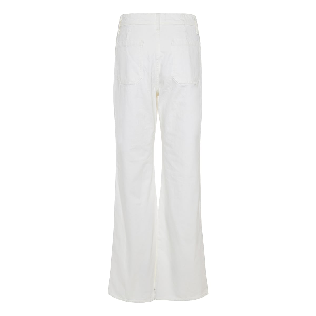 Florence flared denim trousers