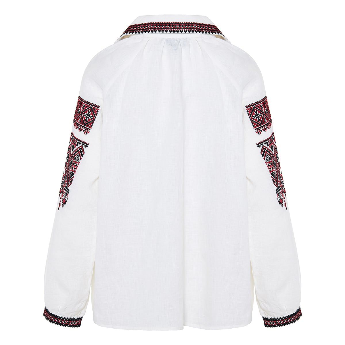 Jill embroidered linen shirt