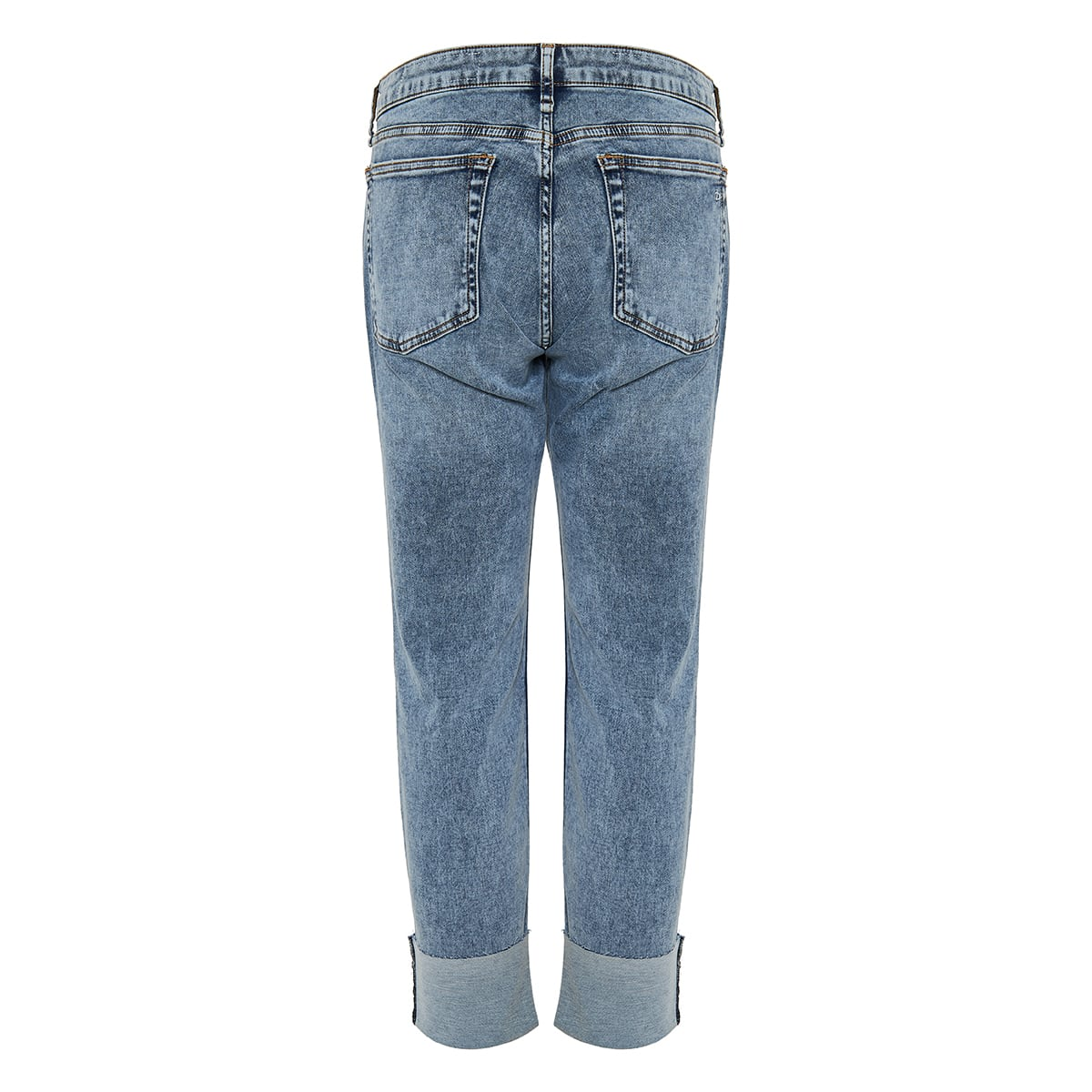 Dre low-rise cropped jeans