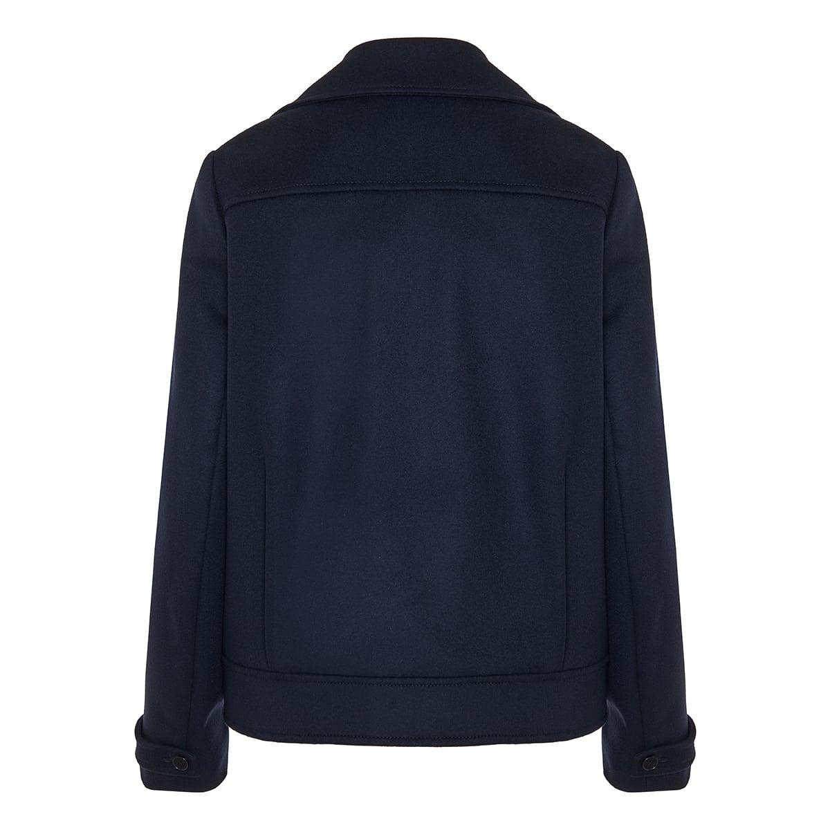 Rebecca short wool coat