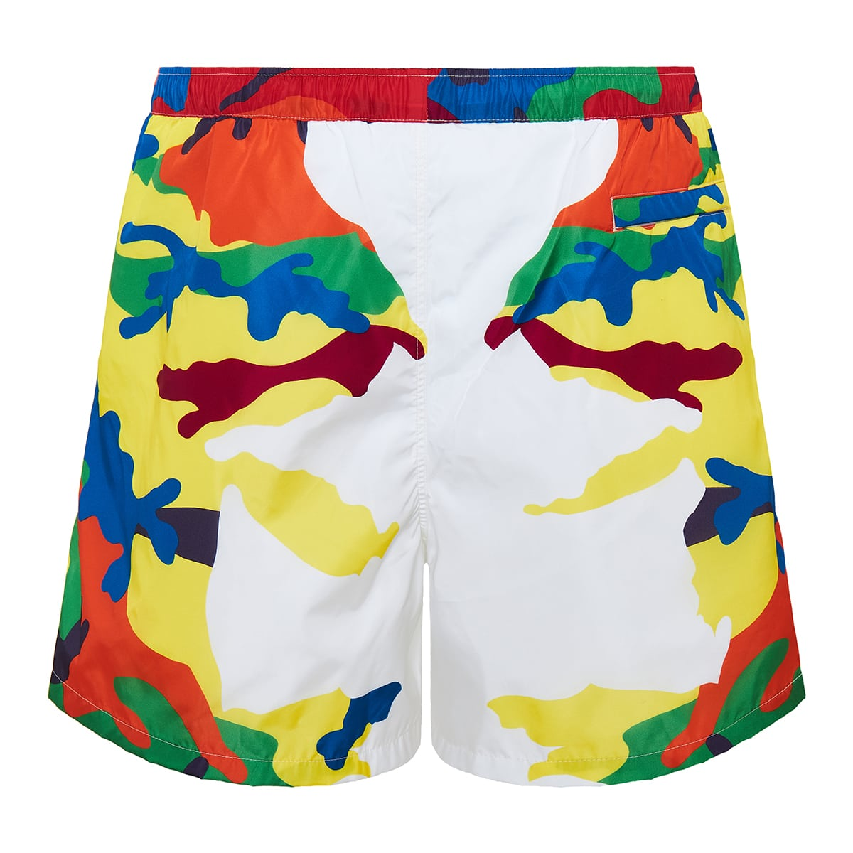 CAMOU7 printed swim shorts