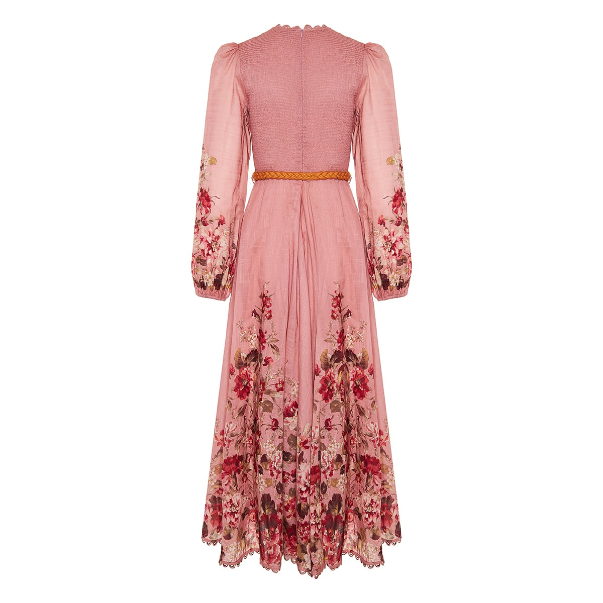 Cassia floral cotton midi dress