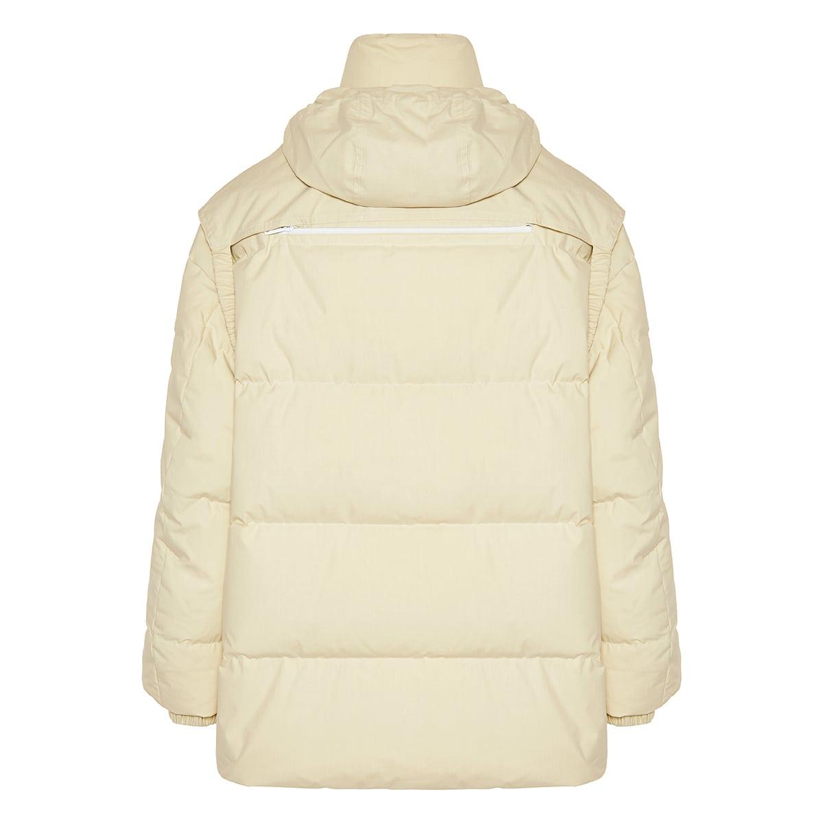 Oversized cotton puffer jacket