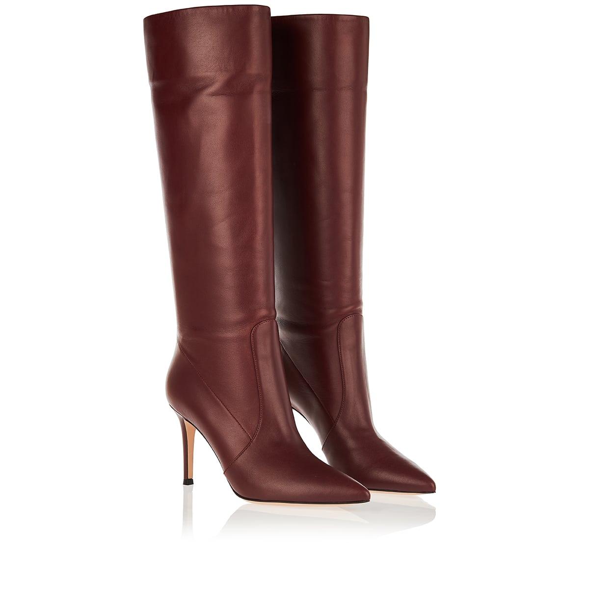 Hansen knee-high leather boots