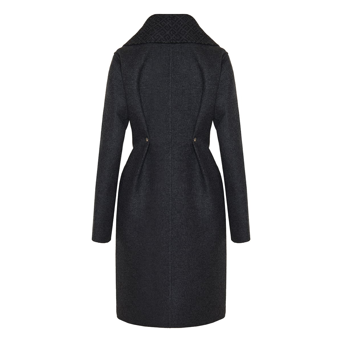 4G belted wool coat