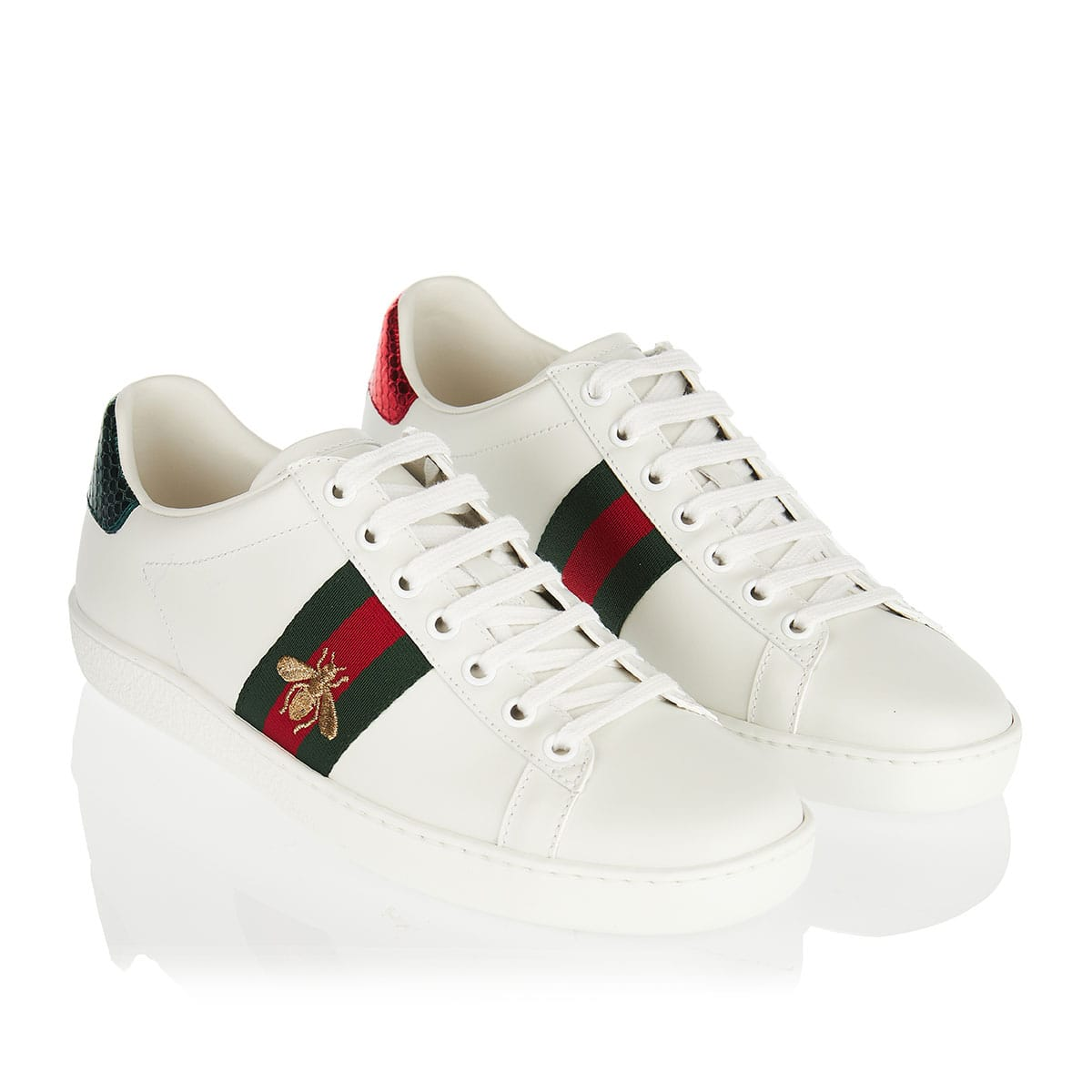 Ace bee leather sneakers