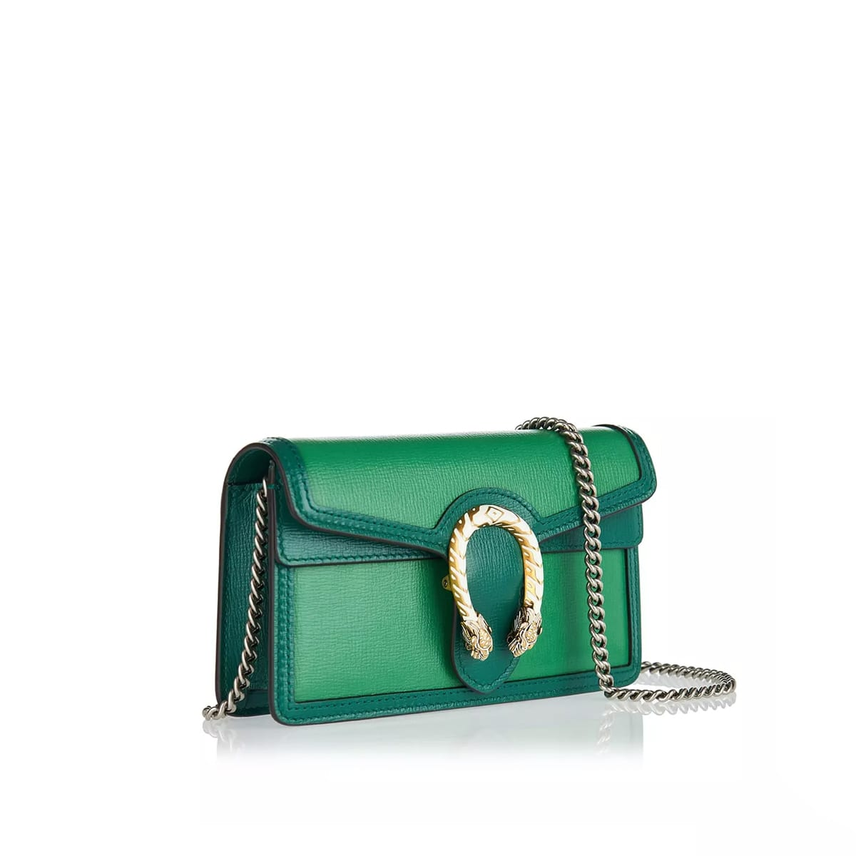 Dionysus Super Mini leather shoulder bag