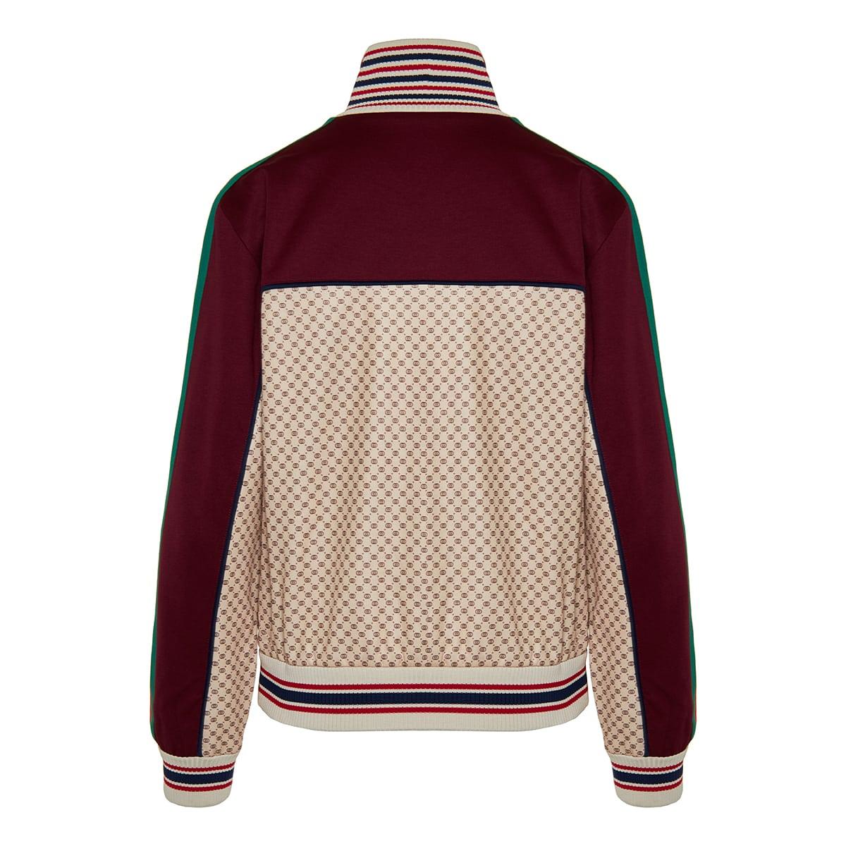GG jersey track jacket