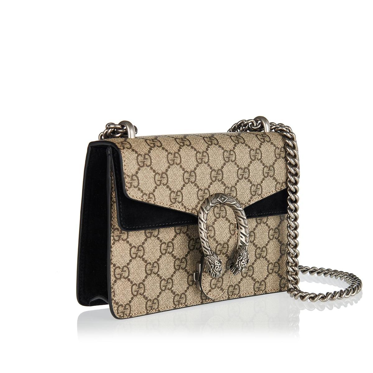 Dionysus GG mini canvas chain bag